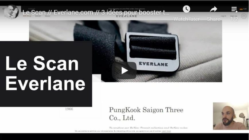 Everlane, King of Product Page Design?